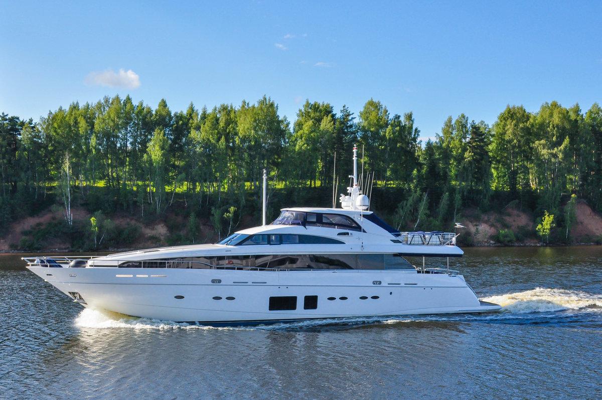 Яхта на реке Волге - Сергей Тагиров