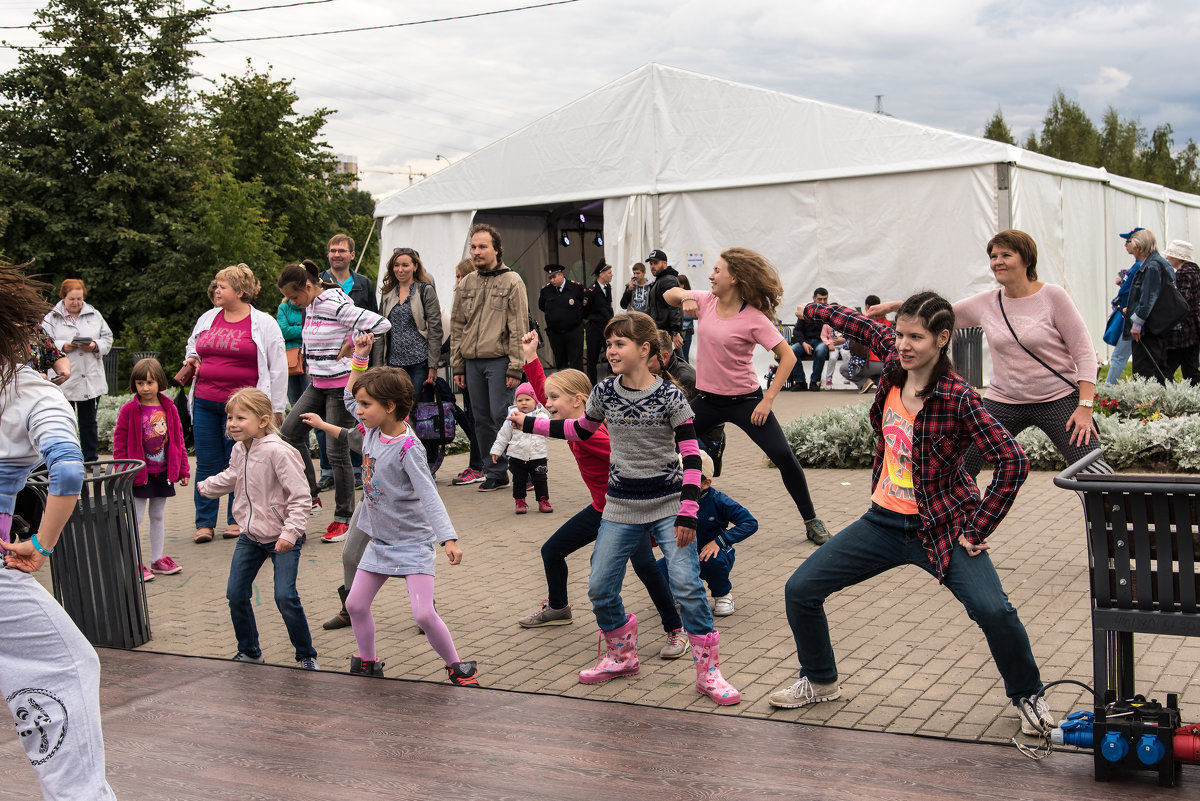 Урок танцев-4 - Владимир Безбородов