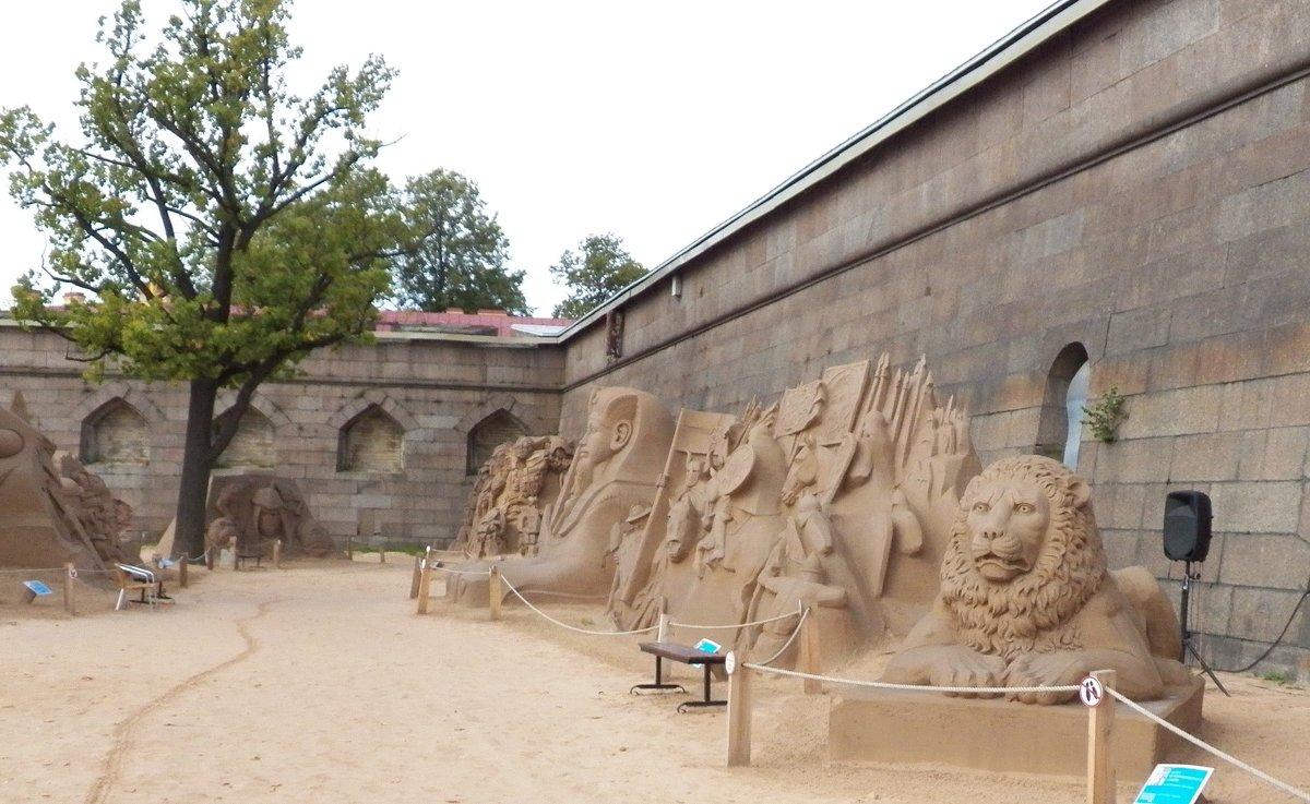 Выставка песчаных скульптур - Виктор Елисеев