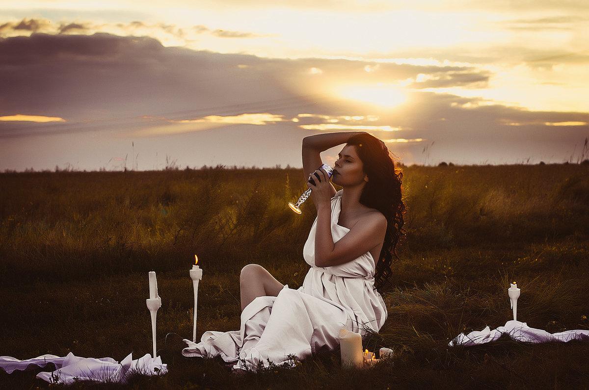 на закате - Ксения Цапко