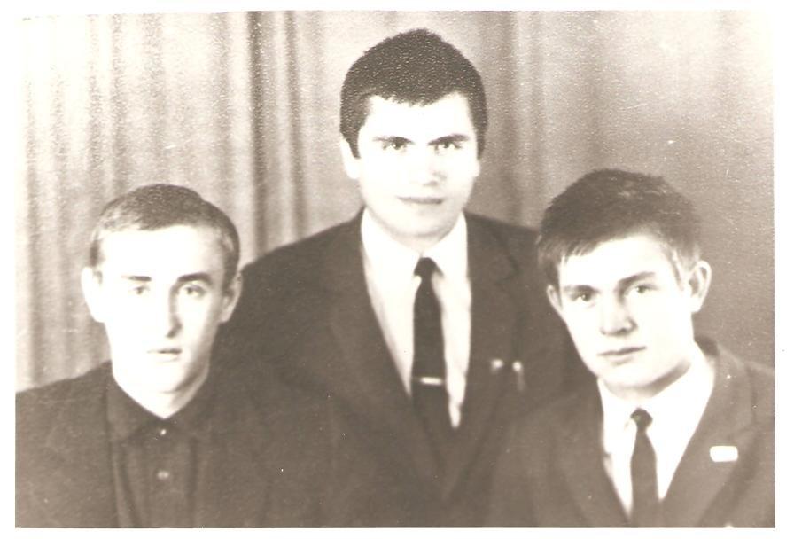 Я студент  (1966-1969)... - Миша Любчик
