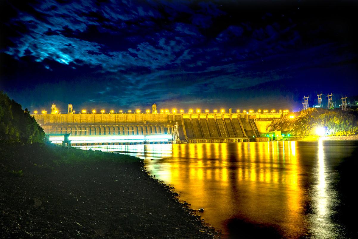 Красноярская ГЭС - Maksim Polunin