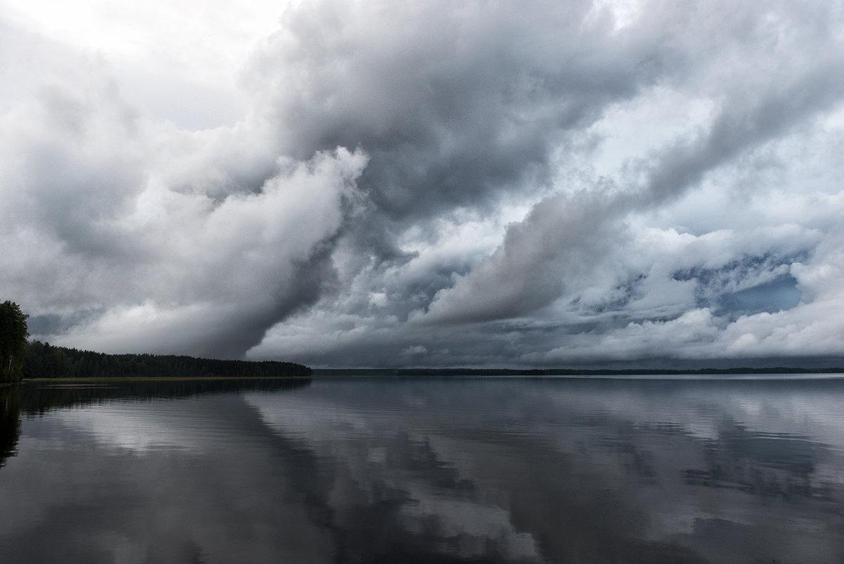Облака над озером Сайма - Valeriy(Валерий) Сергиенко