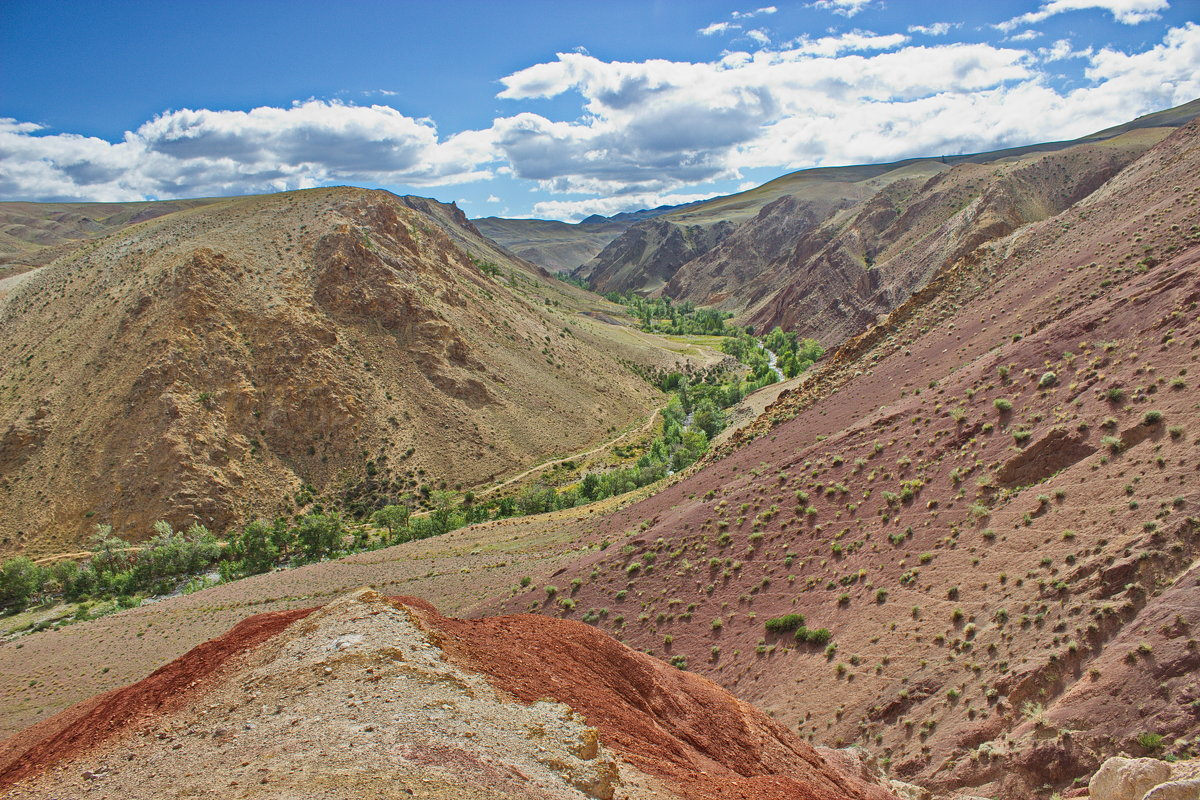 Долина реки Кызыл-Чин - val-isaew2010 Валерий Исаев