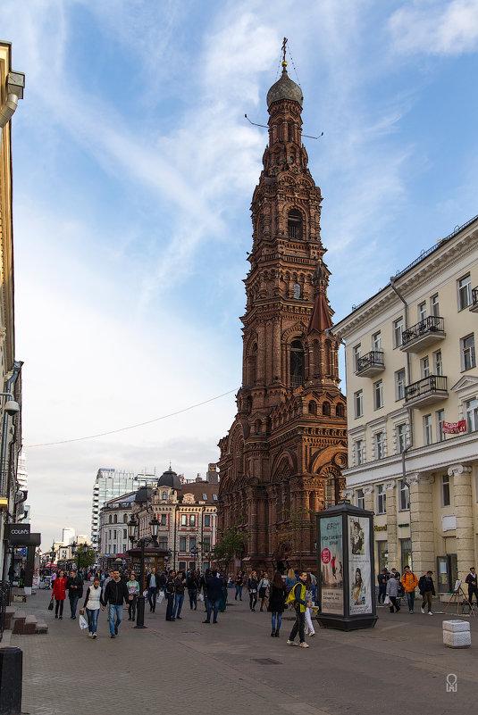 Казань, колокольня Богоявленского собора - Олег Манаенков
