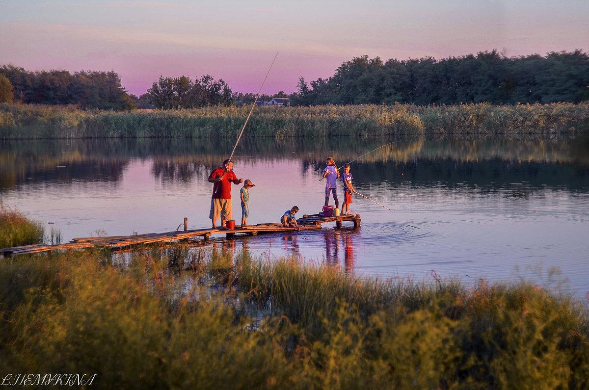 Вечерок в деревне - LNemykina