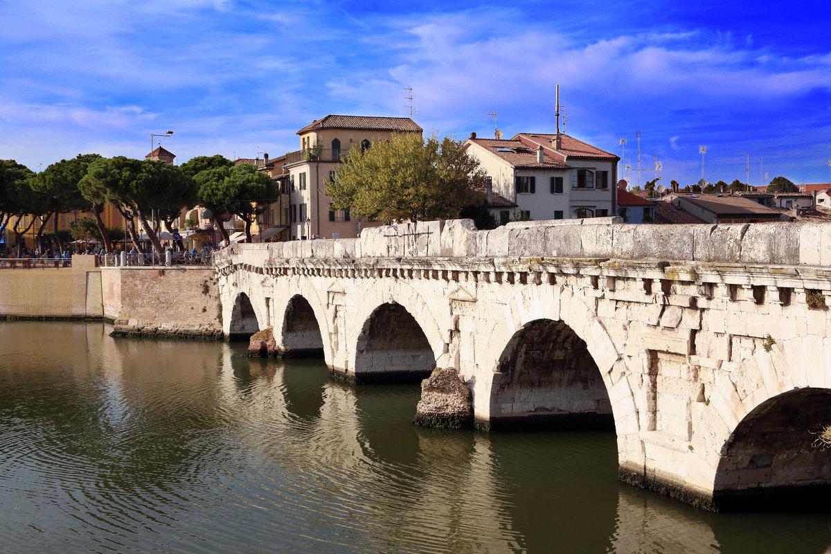 Мост Тиберия, Римини - Larisa Ulanova