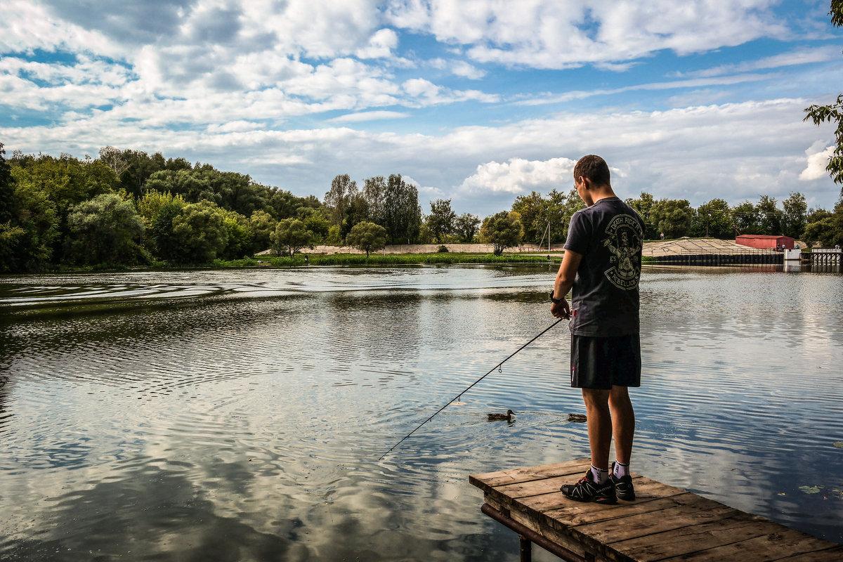 На рыбалке. - Александр Селезнев