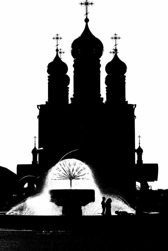 Храм г. Осинники - Юрий Борзов