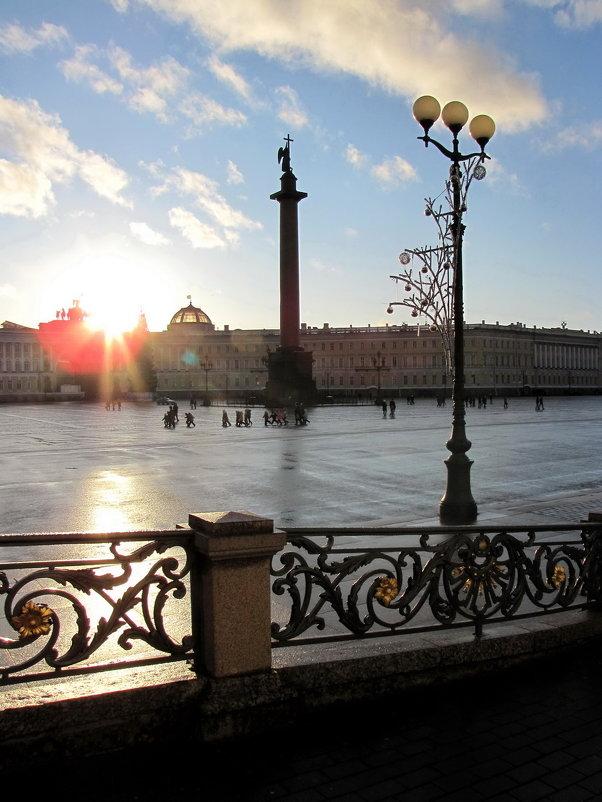 На Дворцовой площади - Николай