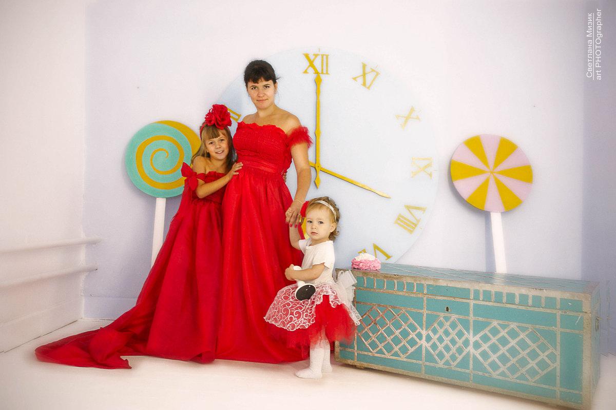 Три леди в красном - Светлана Мизик