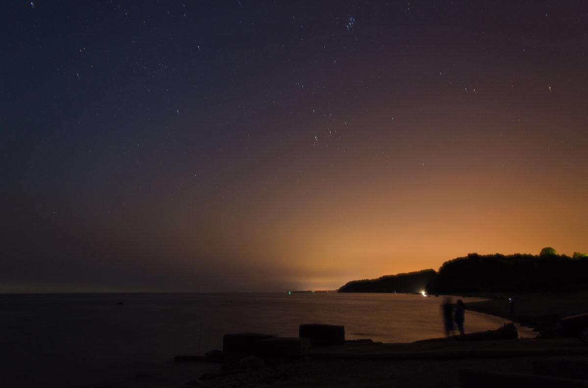 Звездное небо у берега моря - Юрий Золоско