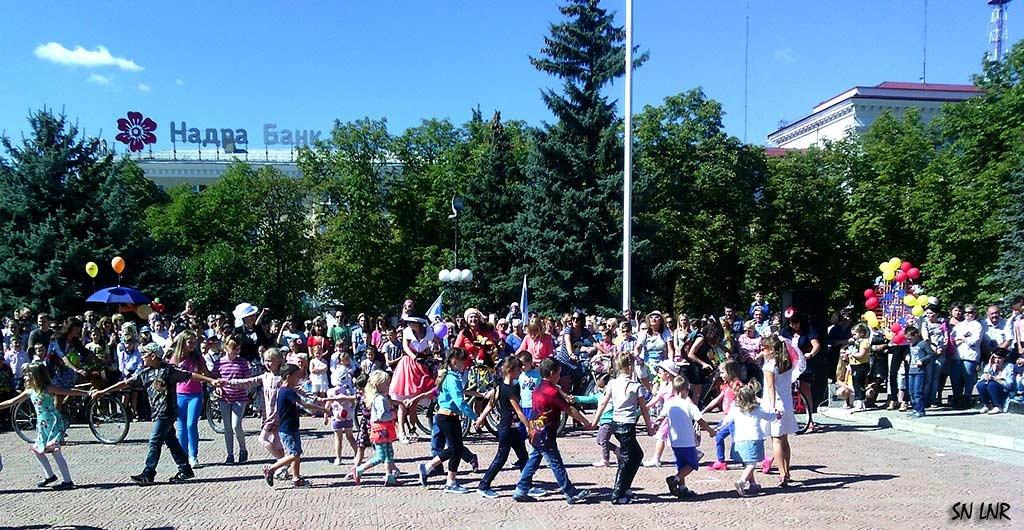 Как мы отпраздновали День Луганска! Детский хоровод - Наталья (ShadeNataly) Мельник