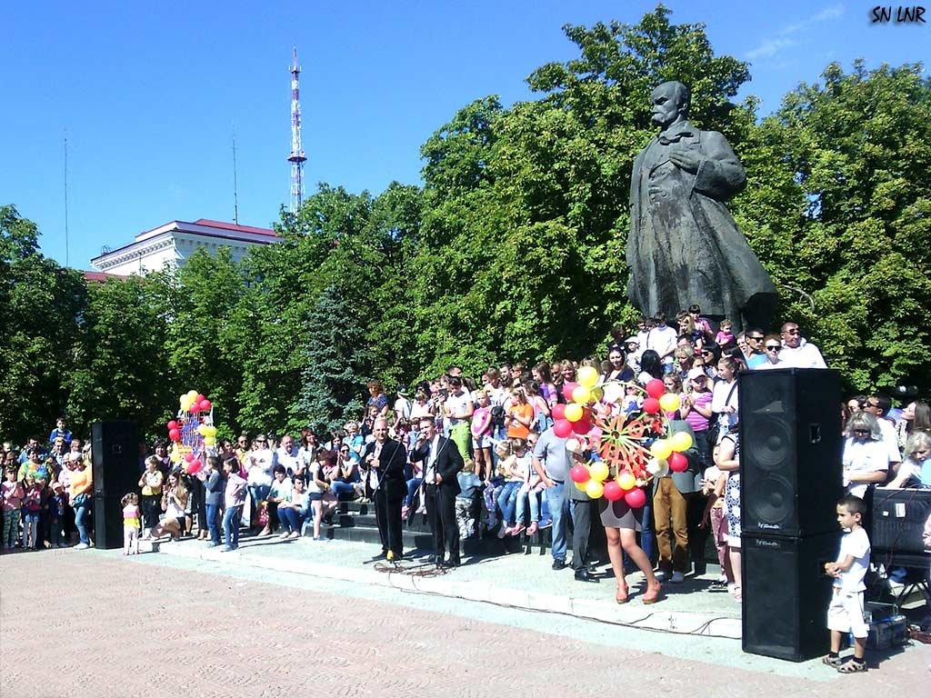 Как мы отпраздновали День Луганска! Праздничный концерт - Наталья (ShadeNataly) Мельник