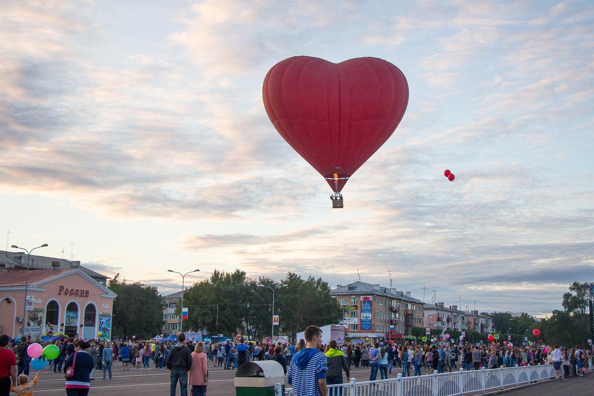 Сердце любимому городу - К Елена