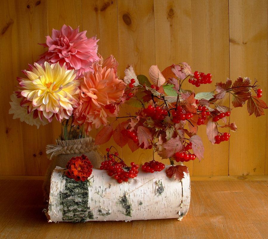 Краски осени щедры - Нина северянка