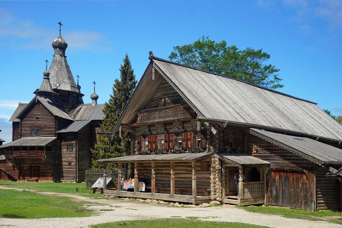 Музей деревянного зодчества. - Юрий Шувалов