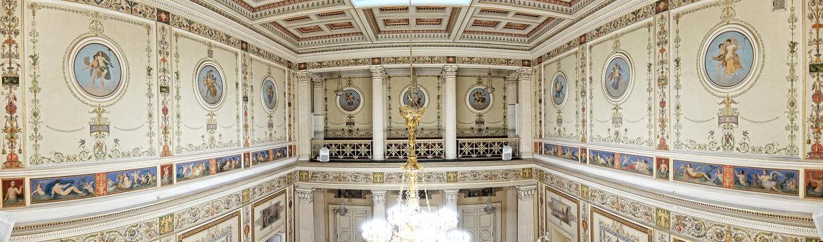 СПБ Мариинский дворец Помпейский зал - ВЛАДИМИР