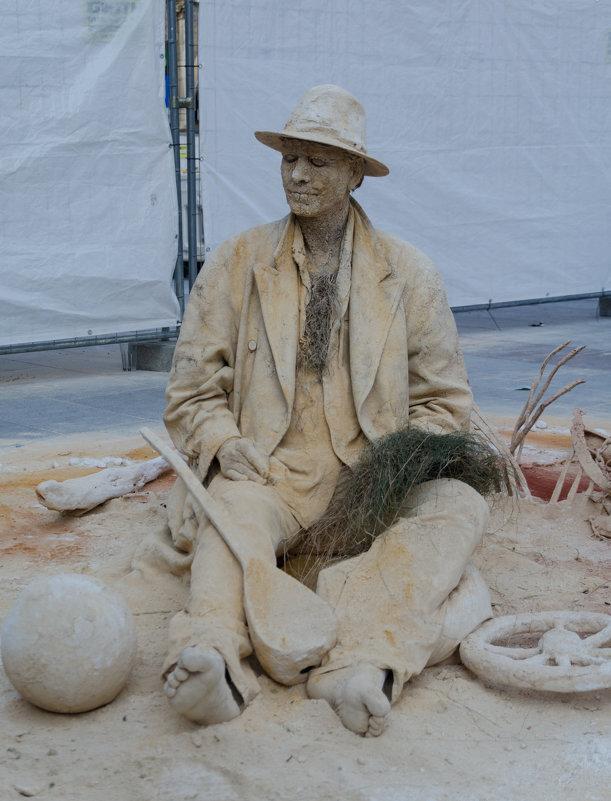 Человек - Песок - Eugen Pracht