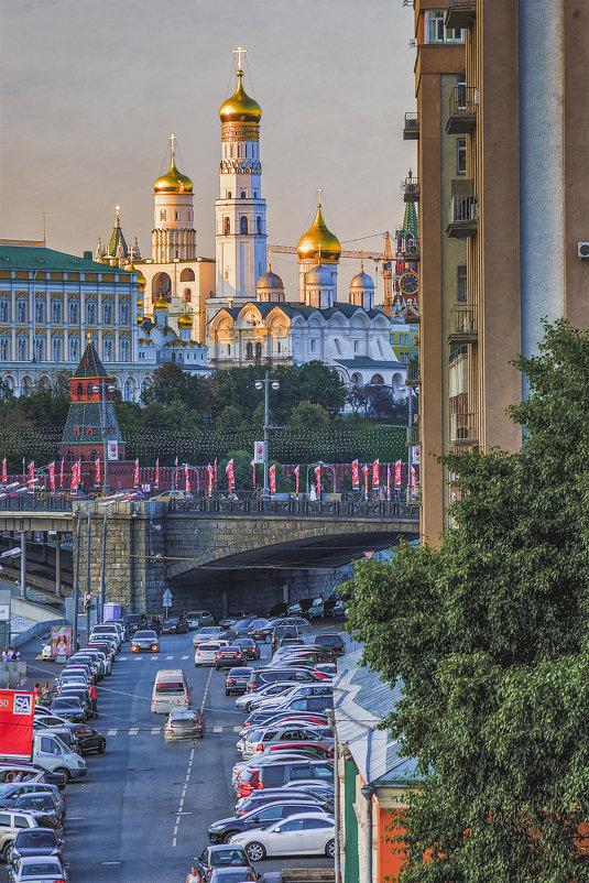 Москва. Вид от Патриаршего моста. - Виталий Лабзов