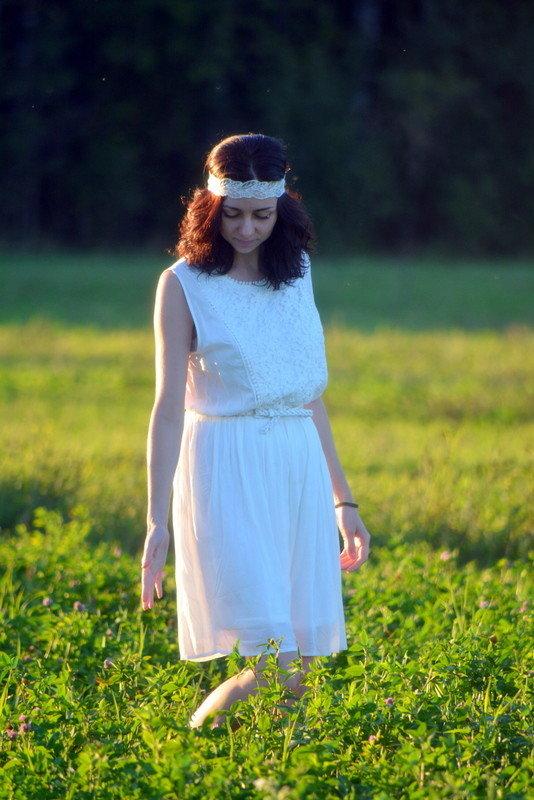 На поле - Elena