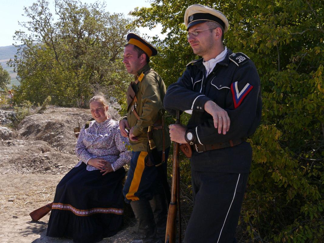 на Крымском военно-историческом фестивале-2 - Андрей Козлов
