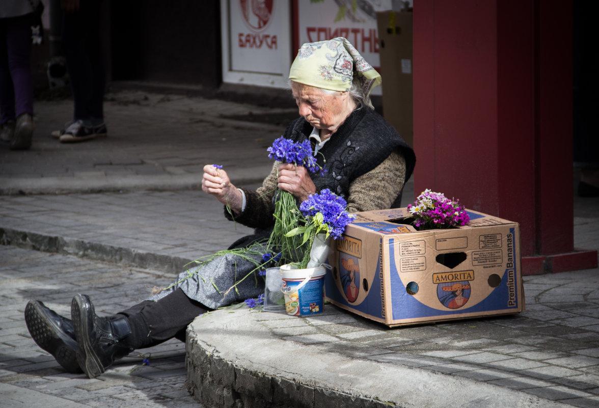 Продавщица васильков - Elena Ignatova