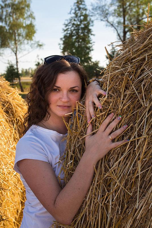 фотосессия в поле - Екатерина Гриб