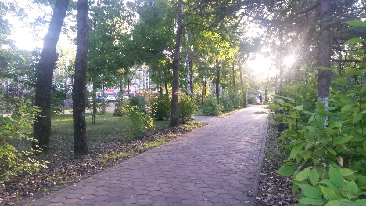 Осенний закат - Natusya 89