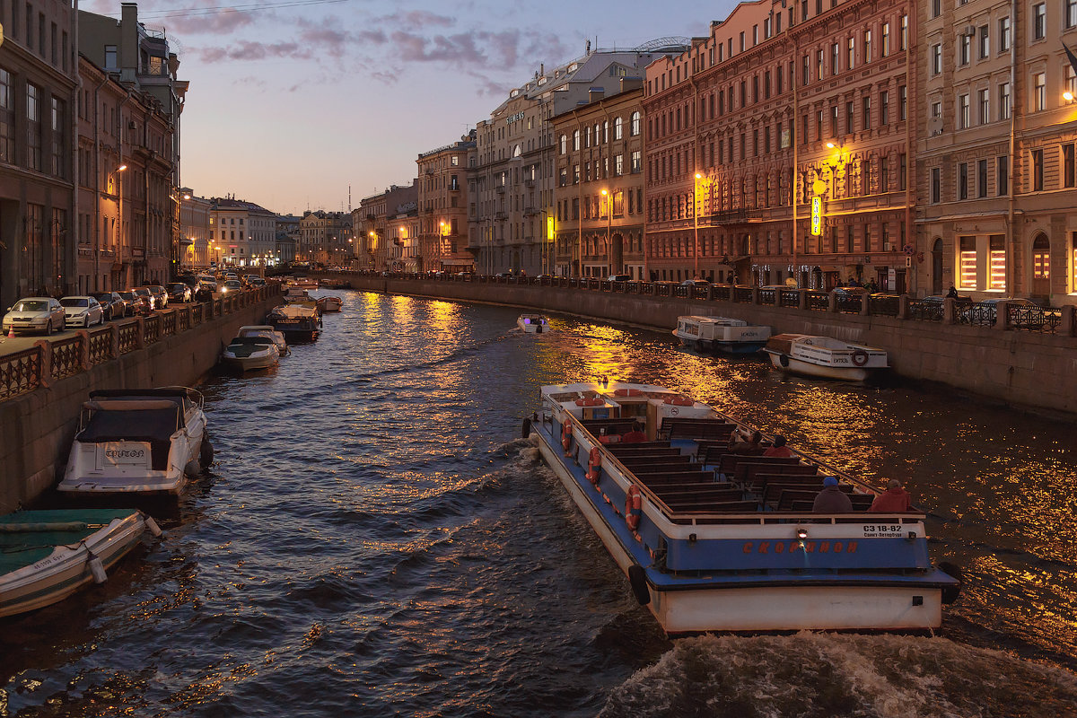 Вечерняя Мойка, СПб - Александр Кислицын
