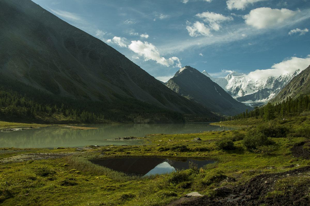в долине озера Ак-кем, под Белухой - Ларико Ильющенко