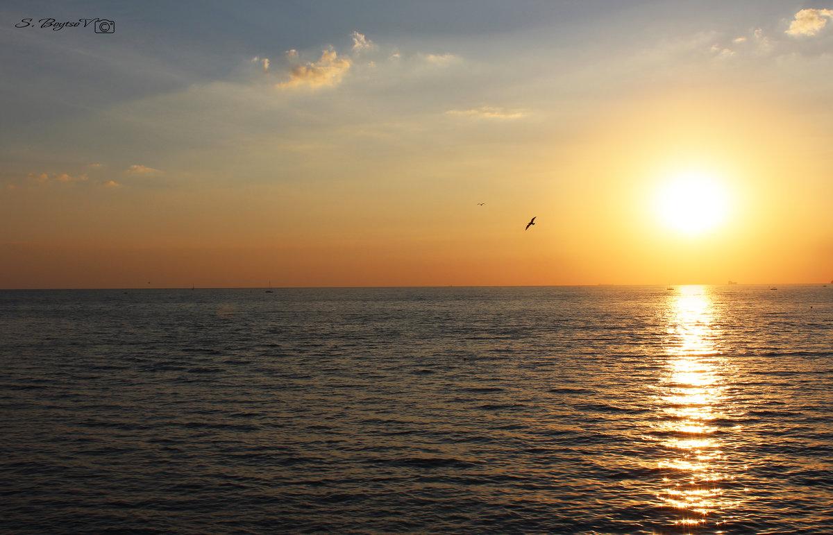 море засыпает - сергей Бойцов