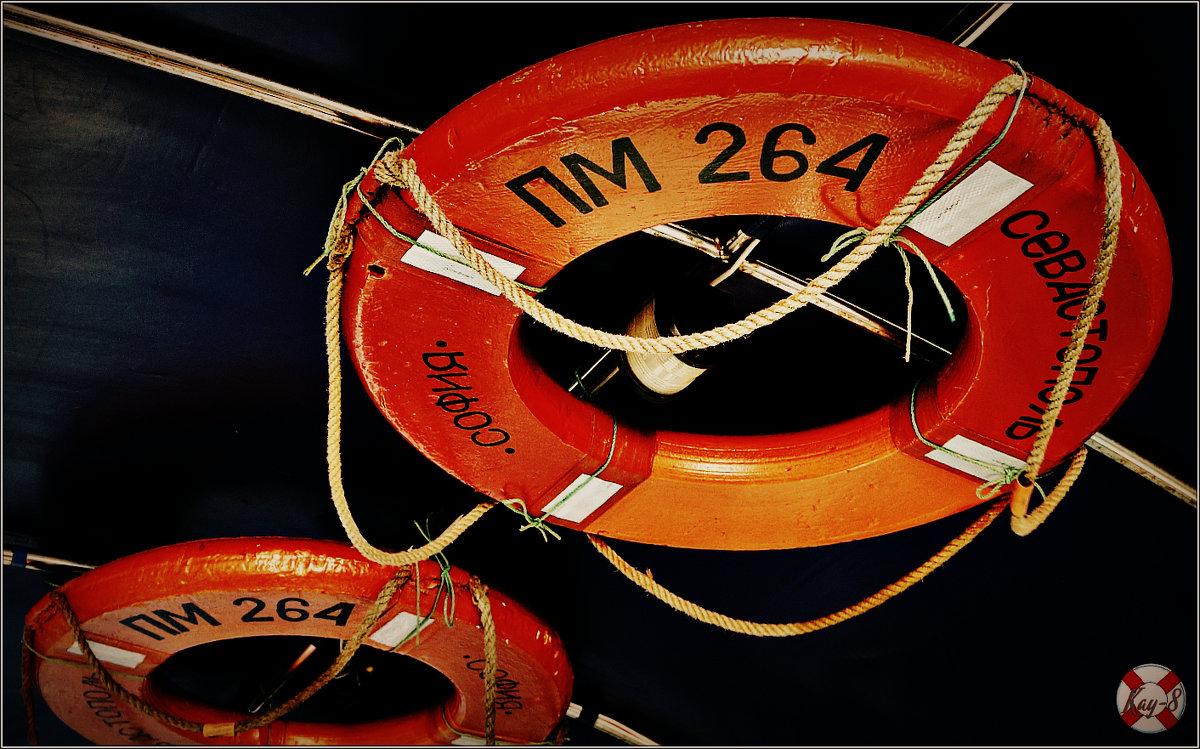 Морская инсталляция в Балаклаве - Кай-8 (Ярослав) Забелин