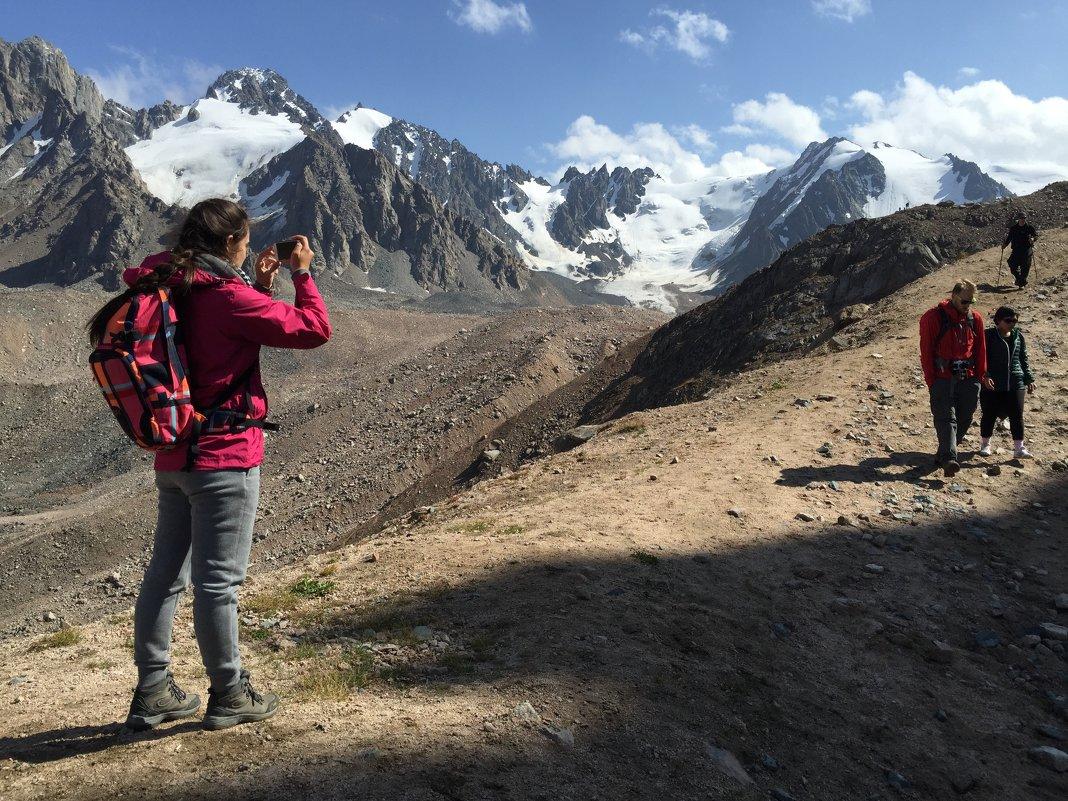 Альпиниада на пик Молодежный (4147 метров). - Anna Gornostayeva
