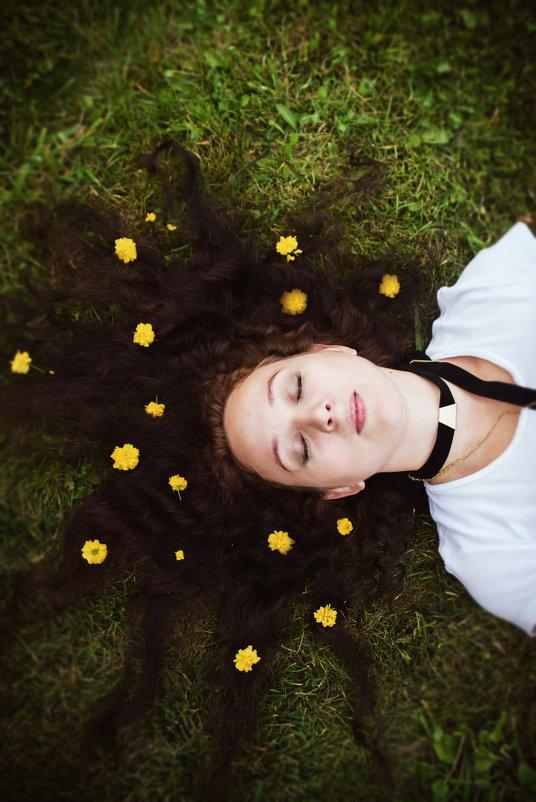 портрет девушки - Наталья