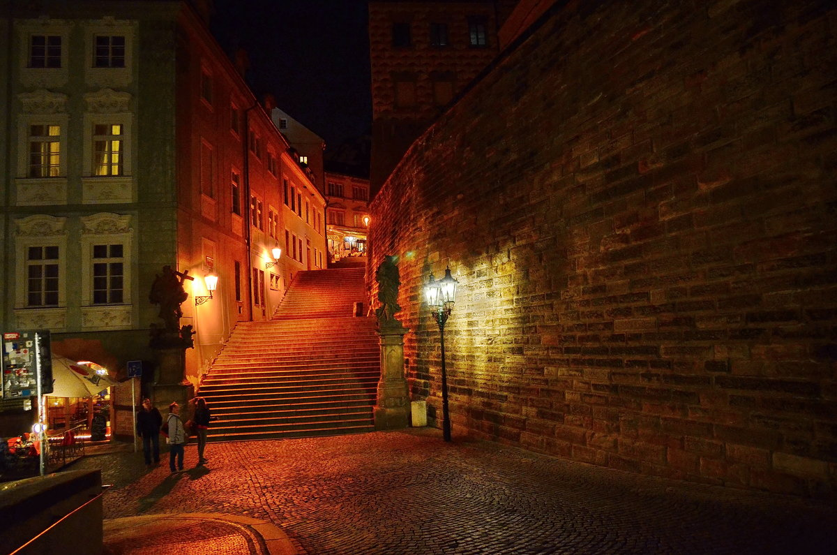 Ночная Прага - Владимир Брагилевский