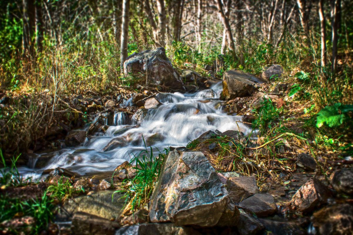Тургеньское ущелье. Горный ручей - Julia Martinkova