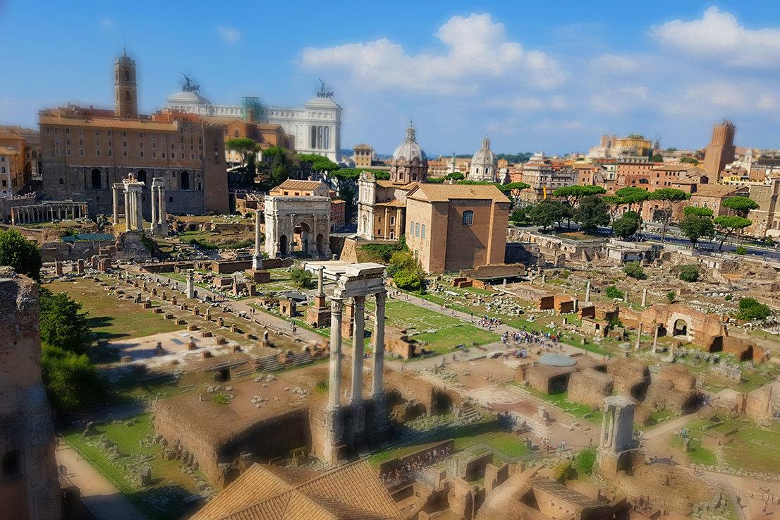 Римские руины - сергей адольфович