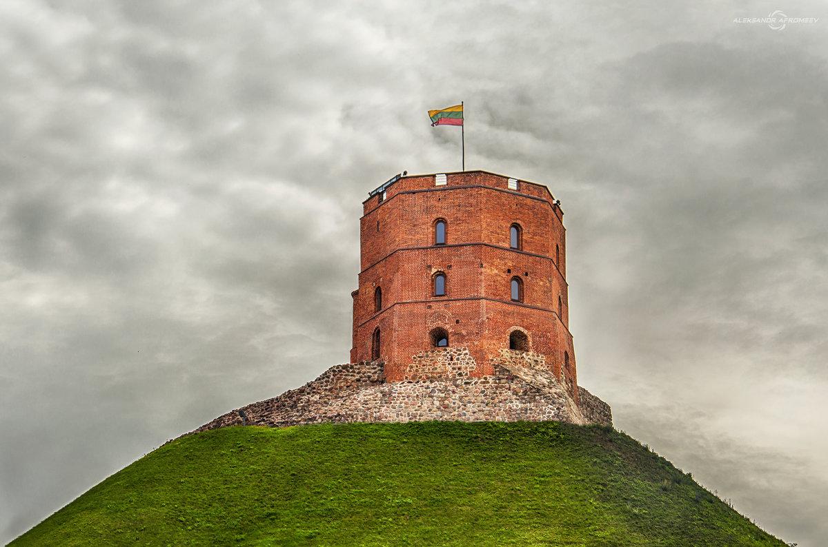 Башня Гедимина. Вильнюс. - Александр Афромеев