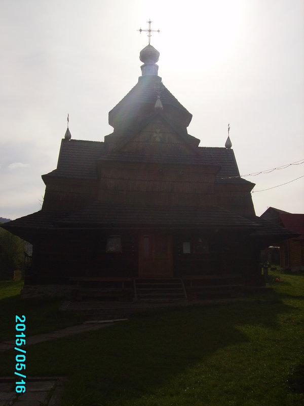 Деревянная   церковь  в   Ворохте - Андрей  Васильевич Коляскин