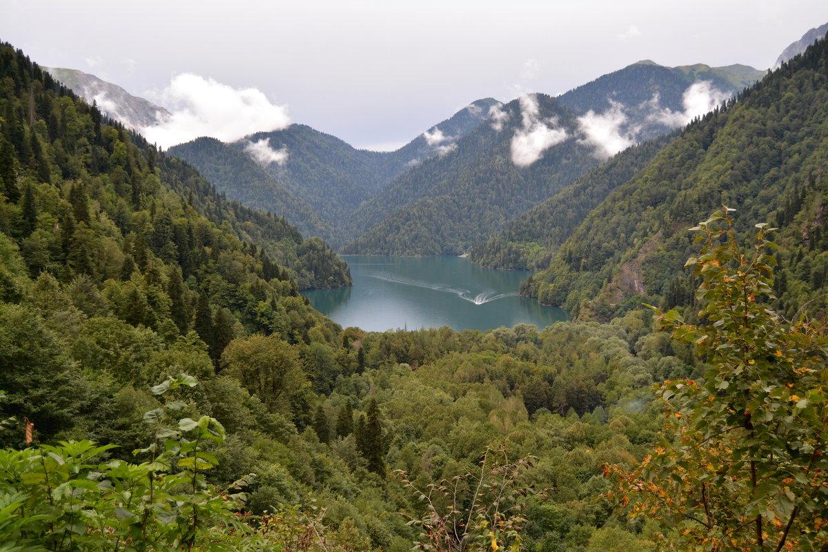 Горное  озеро - АЛЕКС