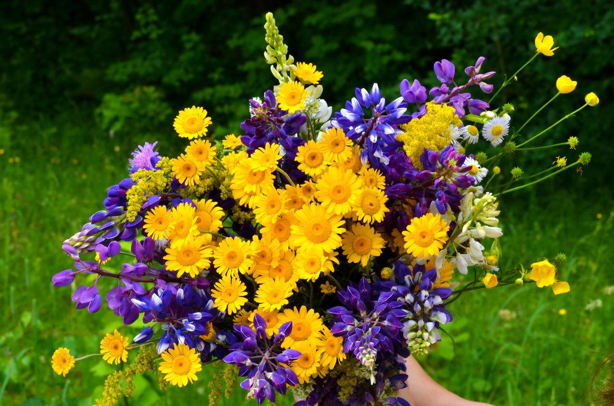 Букет цветов - Марина Романова