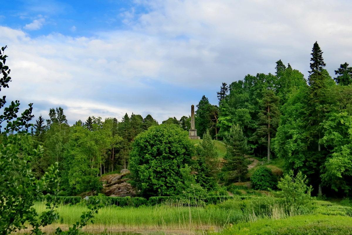 Вид на обелиск Брогливо - Светлана