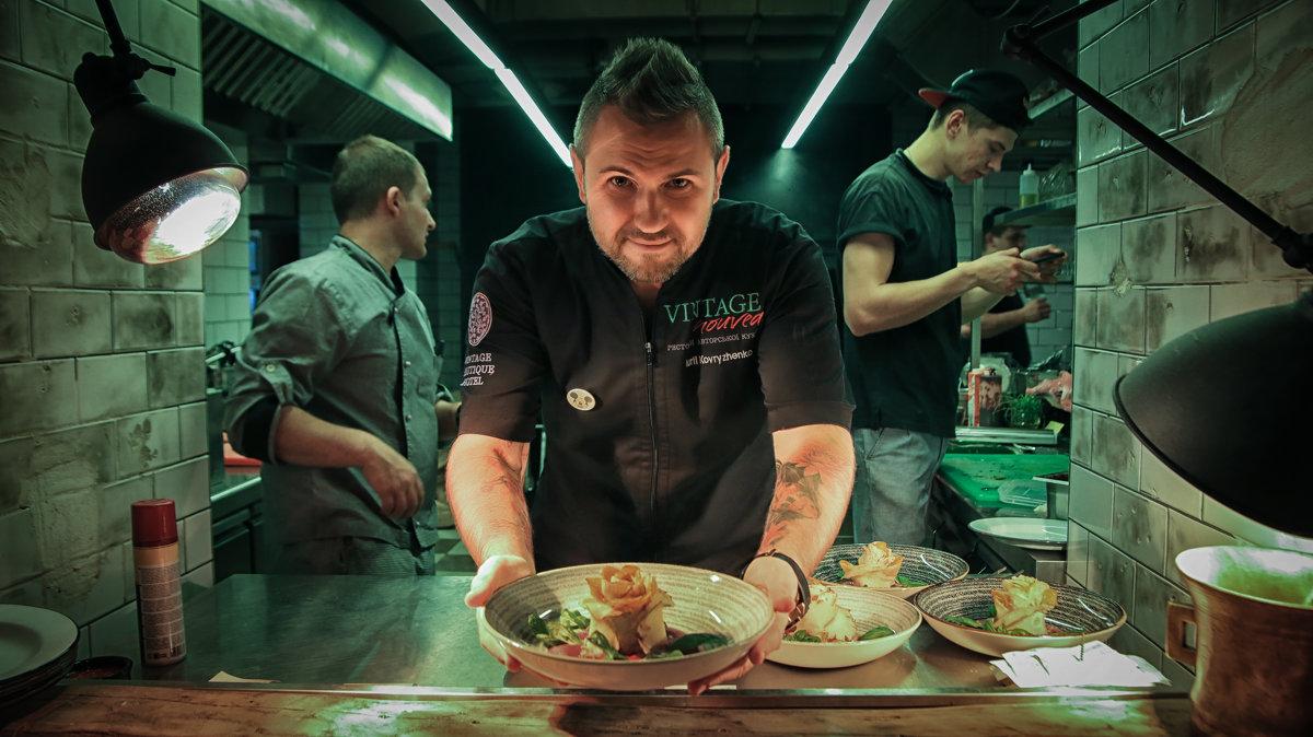 Шеф-повар - Виктор Пушкин
