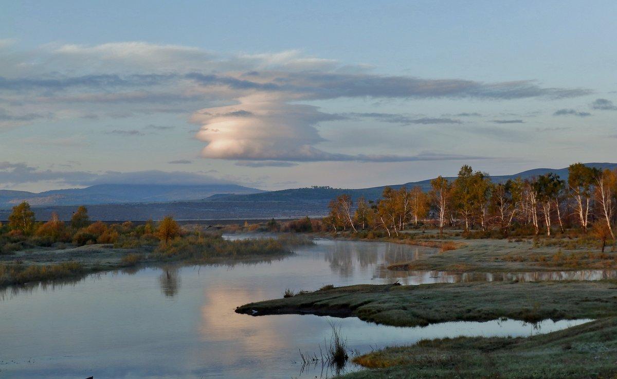 утро на реке - Анна