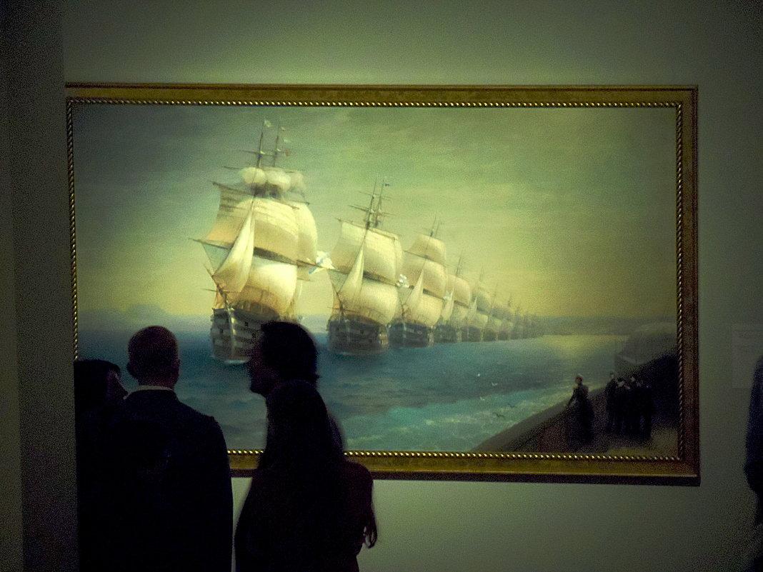 И. К. Айвазовский Смотр Черноморского флота в 1849 году. 1886 - Галина