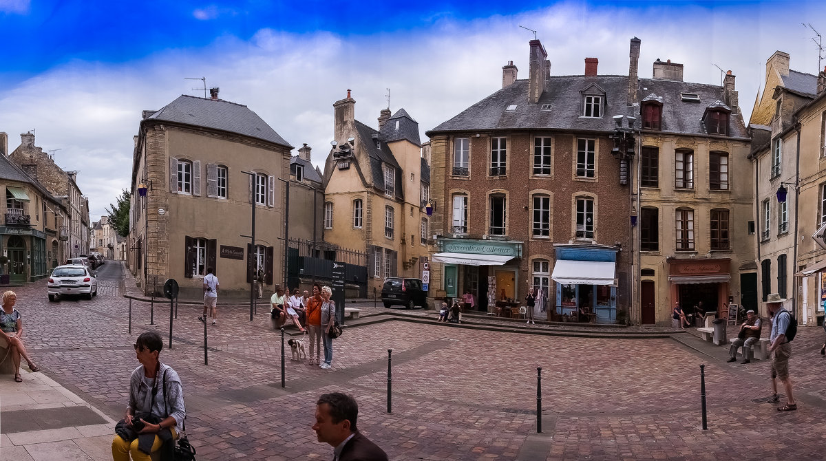 Франция 2015г . Байё (фр. Bayeux) - Юрий Журавлев