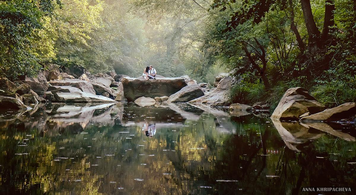 У реки - Анна Хрипачева