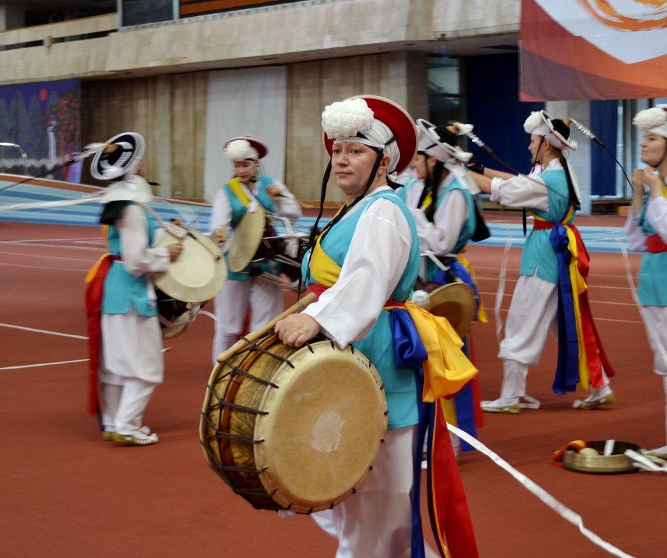 Корейские барабаны - Mariya Zazerkalnaya