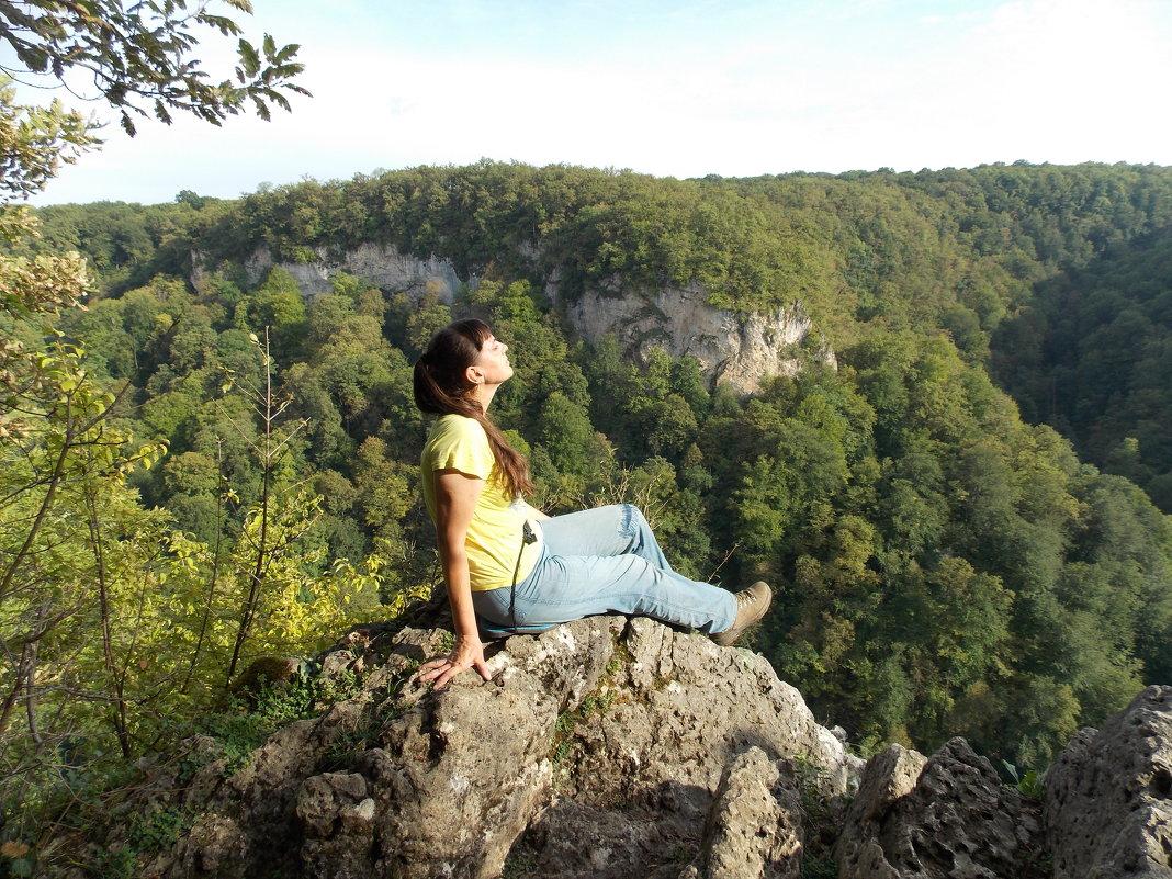 На водопадах Руфабго - Иркиза Снежная